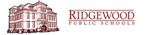 Logo of Ridgewood Public Schools Moodle site